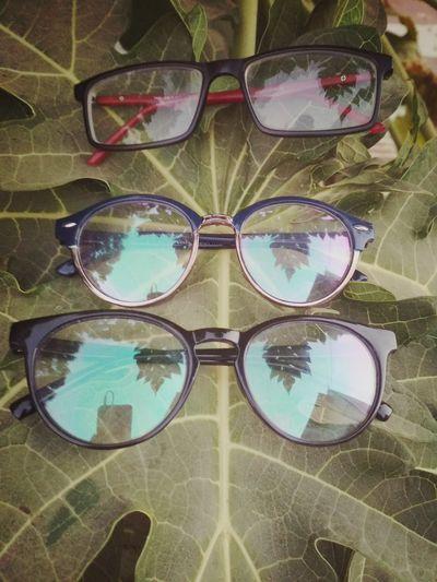 My new Eyes... Hahahahaha Eyeglasses  Eyesight Sunglasses Eyewear Close-up Sky Glasses