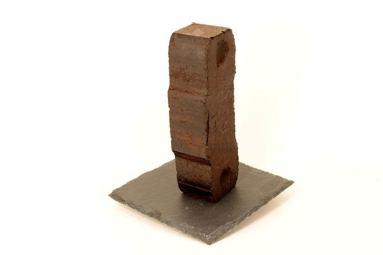Ancient Braunkohle Briketts Coal Festbrennstoff History No People White Background