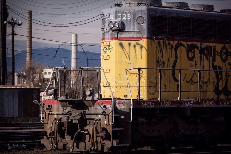 Trains Graffiti Urban Urban Tagging