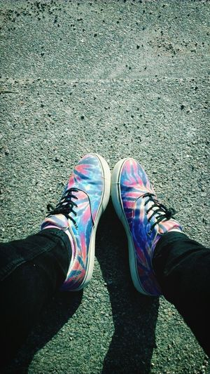 Shoes Tie Dye Emerica