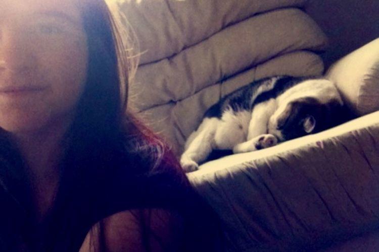 Cat & I Cute Pet Sleepy