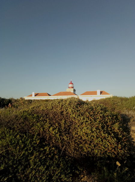 Farol do Cabo Sardão EyeEm Selects Summer Sky Landscape Architecture Grass