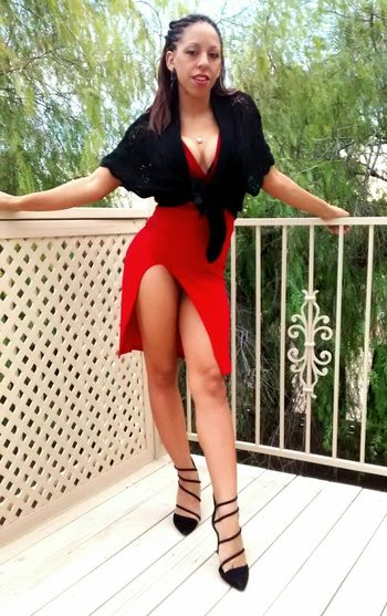 Merry Christmas Faces Of EyeEm Milf🙌 Naughtay Fox Foxy Lady Sexygirl Red High Heels Popular Photos Modelling