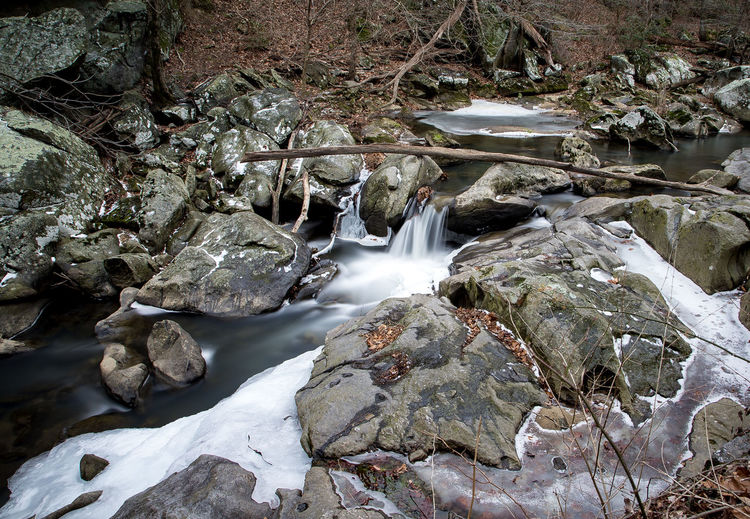 Cold rocks Ice Flows Rocky Beauty In Nature Cascade Day Dell Long Exposure Melting Ice Motion Nature No People Outdoors River Rock - Object Scenics Water Waterfall