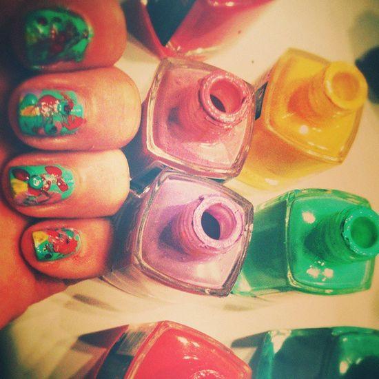 En mode nawak vive la patouille Nail Lacquer Nail Design Fashion Nail My Nail Art