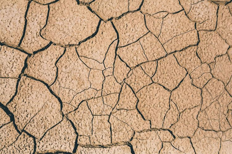 Maximum Closeness Texture Textures And Surfaces Ground Earth Earth_Collections Dirt Dry Dry Land Cracked Ground Backgrounds Cracked Pattern Textured  Nature No People Arid Climate Day Outdoors Close-up