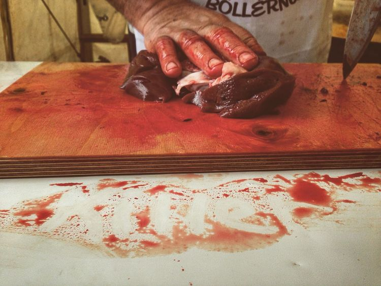 Killer Blood Boller Liver Knife BLOODY Pigkilling Meat Processing Traditional
