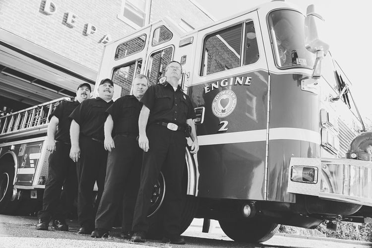 Collected Community Firefighter Firetruck Firedepartment Brave EyeEm Best Shots - Black + White Black And White People Eye4photography  Ladyphotographerofthemonth