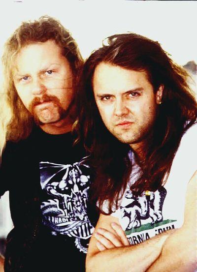 Metallica Lars_ulrich James Hetfield
