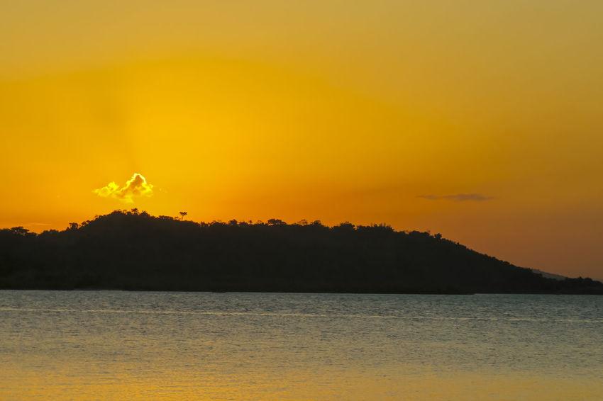 The sun🔆🔆 Brazil Outdoors Illuminated Sunset Sunset_collection Sunset Silhouettes Tranquility Yellow Sunlight Sun Landscape Beach Close-up Colorful Rays Of Light Rays Of The Sun Rays Paint The Town Yellow