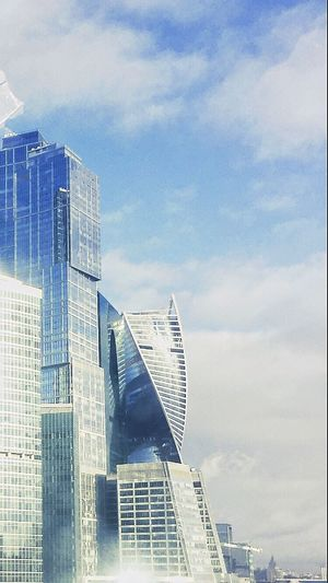 Moscow City Moscow Afimall Evolution Tower Evolution  Moscow River Moscow Center