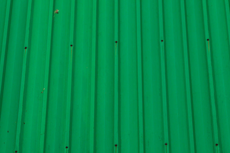 Green Color Backgrounds Pattern Full Frame No People Close-up Iron Corrugated Iron Textured  Architecture Industry Striped Corrugated Metal Nature Day Repetition Outdoors Cargo Container In A Row Palm Leaf