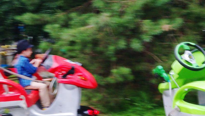 Kids having fun Motion Real People Blurred Motion Day Tyumen' Outdoors