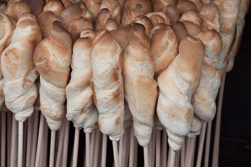 Bread On A Stick . Food Pattern Pieces