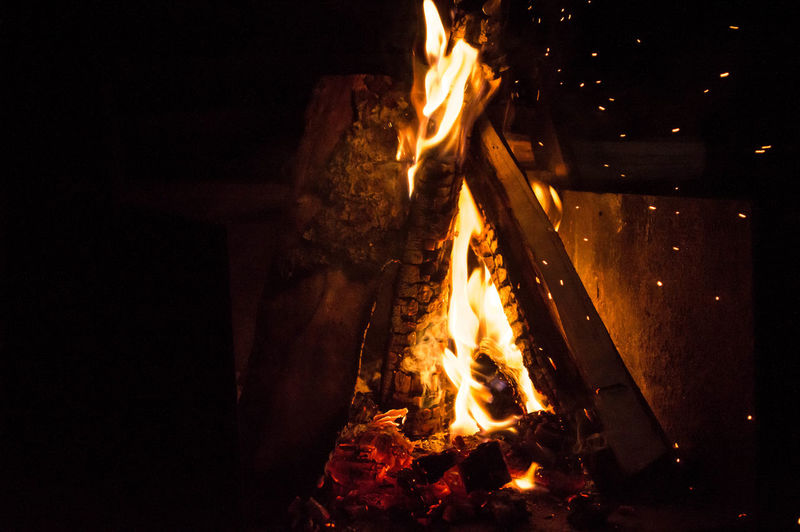 Night Heat Fire