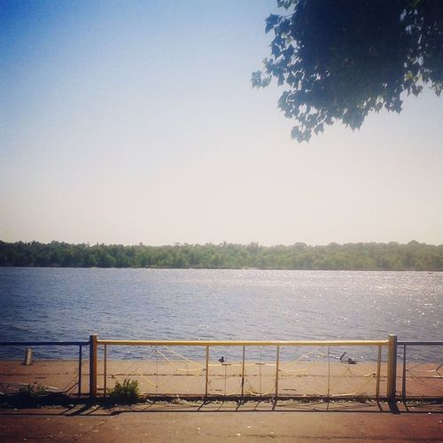Dnipro River Zpcity Ukraine_nature Rest Beautyful Day Summer2015