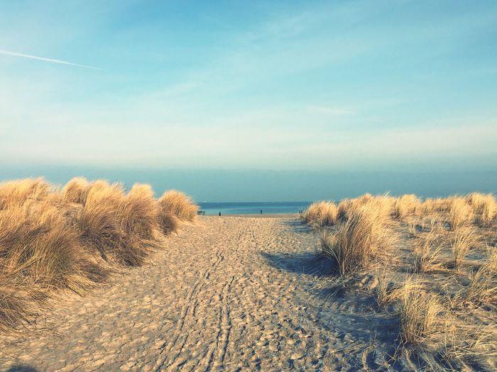 Ostsee Warnemünde Strand