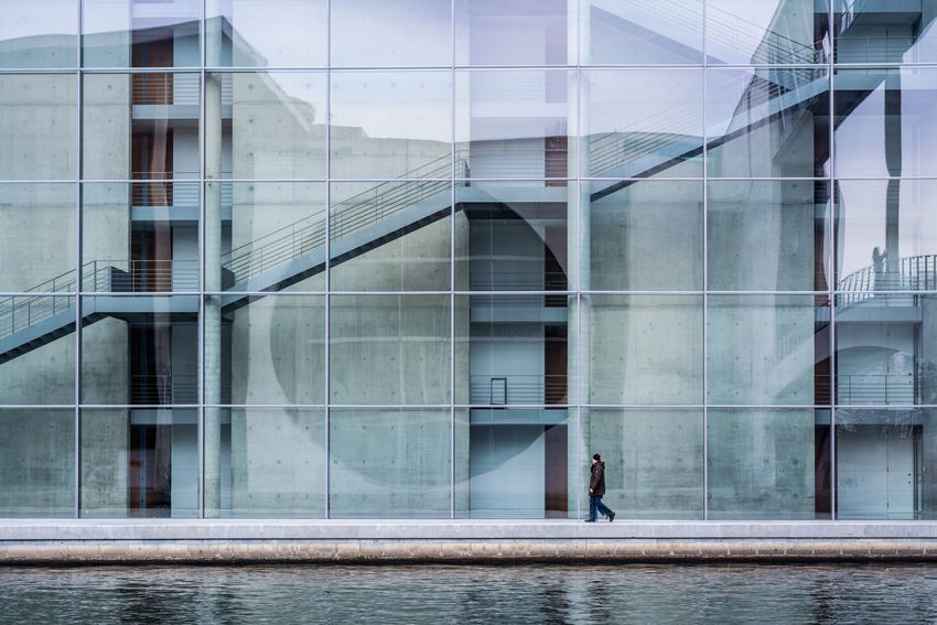 Architecture Architecture_collection Berlin Building Building Exterior Built Structure City Eye4photography  EyeEm Best Shots Glass - Material Minimalism Simplicity Urban Urban Geometry Showcase April The Architect - 2016 EyeEm Awards