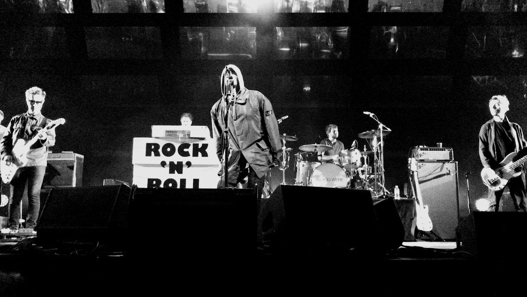 Liam Gallagher Liam Gallagher Gig Oasis Rock And Roll Performance Musician Popular Music Concert Stage - Performance Space first eyeem photo