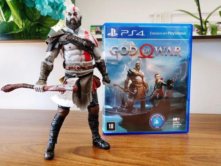 God Of War Kratos Boneco Playstation PS4 K4 Game Jogo Video Game  Representing