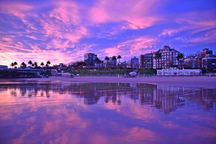 Basque Country Beach Photography Capture The Moment Violet Sky  Final Day Landcape Natural Beauty