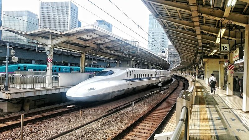 Shinkansen Bullet Train Tokyo Japan Station Travel ASIA World