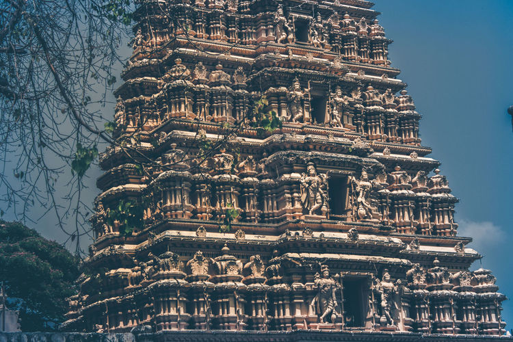 god and godness Architecture Architecture City Day Effects God God And Godess Horizontal Mysore, India No People Outdoors Petrochemical Plant Photography Sky Temple Textured  Travel Destinations Tree