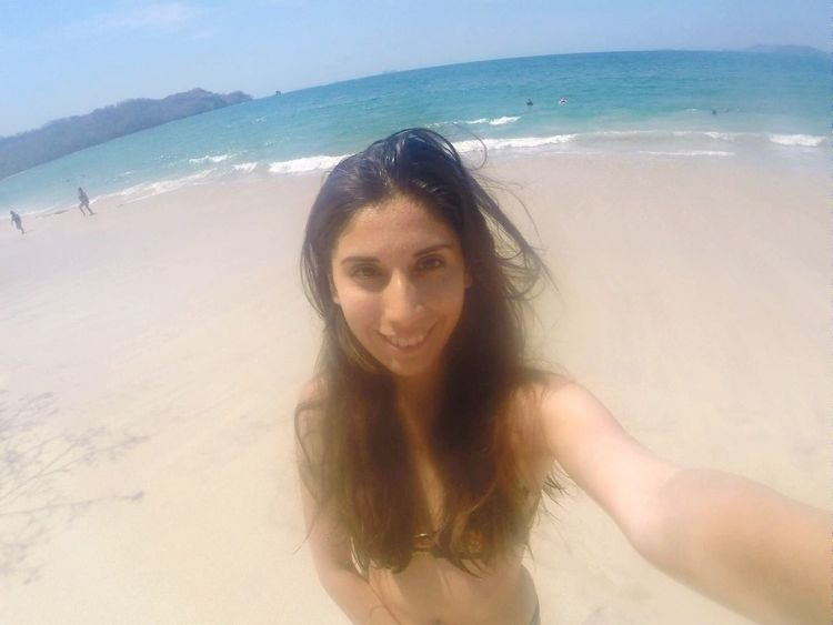 The heavy waves made my hair look like this 😂😁 Beach Gopro That's Me Selfie Trip Travelling Goprooftheday Me Disaster