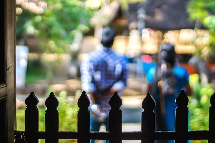 EyeEm Gallery Windows And Doors Dakshinchitra Indoors Outdoors Arts Culture And Entertainment Defocused Background EyeEm Selects Outdoors Day People City Adults Only Focus On Foreground