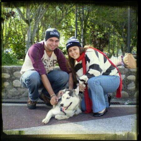 Siberian Husky Relaxing Enjoying Life Merida <3 Hello World