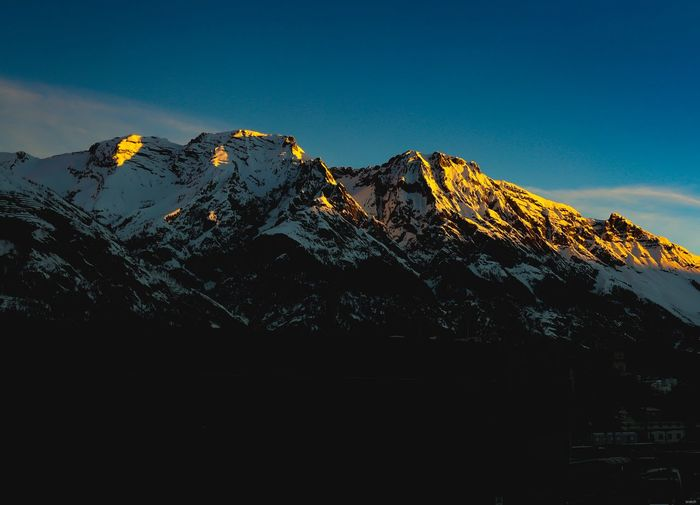 karvendel Alpen Sunshine Sun Tirol  #sky Snow Mountain Snow Mountain Peak Sky Landscape Shining Sunbeam Sunrise
