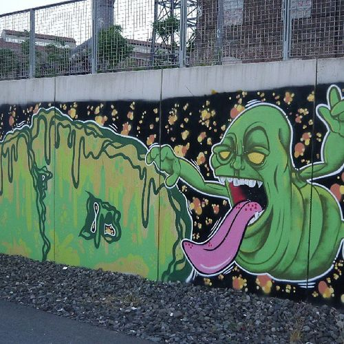 Graffiti Germany Dortmund Phoenixwest industry 2013 streetart all colors are beautiful