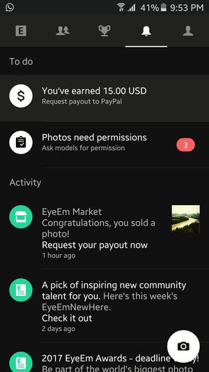 Tganks to Eyem team to encourage ameture enthusiastic photographer like me with this token of appreciation ! Will keep inspiring us for more click Eyem Team Eyem Team India Eyem Sell Screenshot Eyemphotos