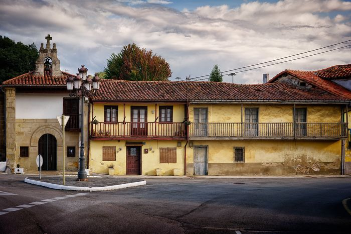 Architecture Built Structure Building Exterior Outdoors No People Cantabria Torrelavega SPAIN Old Buildings Architecture Rural Decay