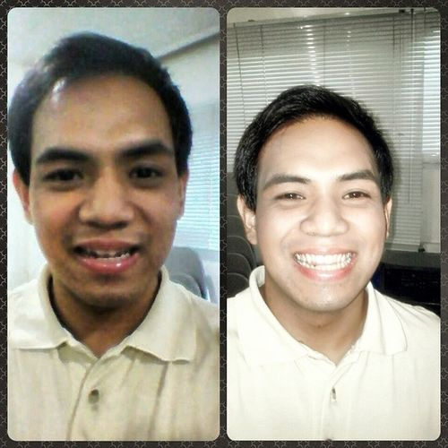 Mary Kay Skin Care 101 BEFORE and AFTER Moisturizer Foundation Cccream hahahahaha mas gwapong di mo inakala Practicethatsmile