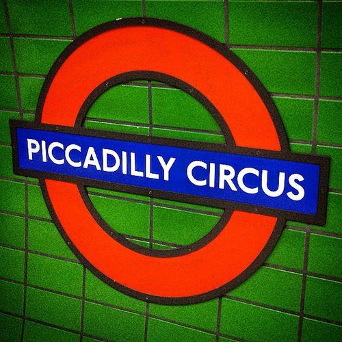 Piccadilly Circus underground Tube Station, London. Underground Tube Tubetrain Tubestation Subway Londonlife Piccadilly London Lovelondon Londonview England English Britain British Uk Unitedkingdom