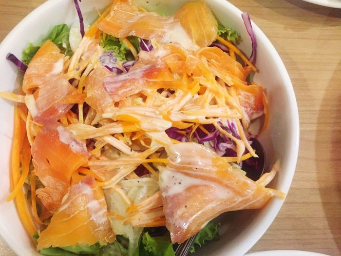 Salmonsalad Fahana Food Dinner