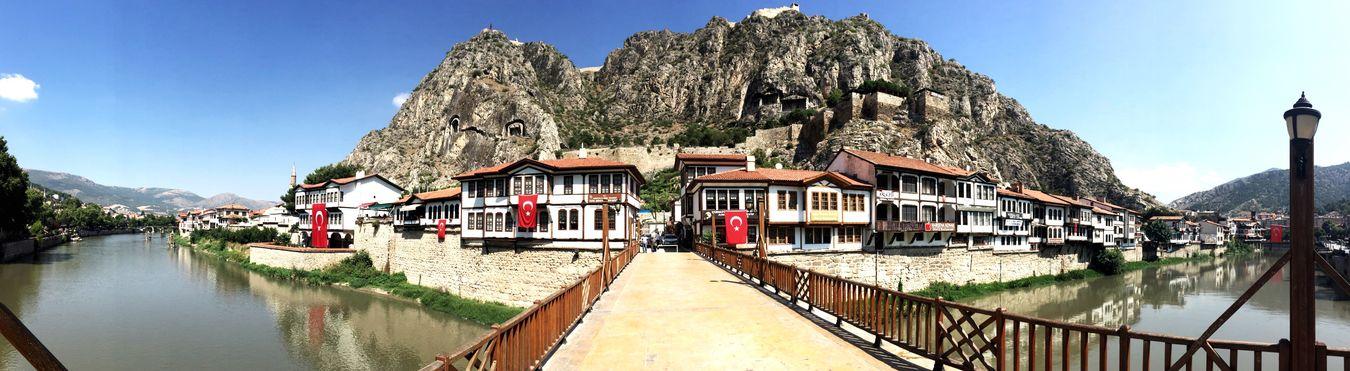 Turkey Amasya City Kralkayamezarları