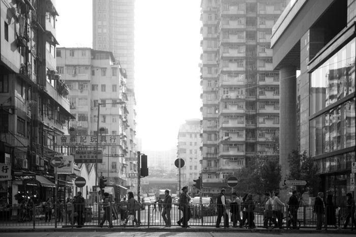 On the edge of our city. Black And White Blackandwhite City City Life Cityscape Dayandnight HongKong Light And Shadow Photography Shamshuipo Street Street Photography Streetphoto_bw Streetphotography