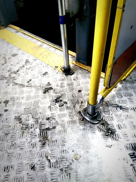 Up Close Street Photography Ride Bus Metal Textures Travel Simple Metal Ground On My Way To Work