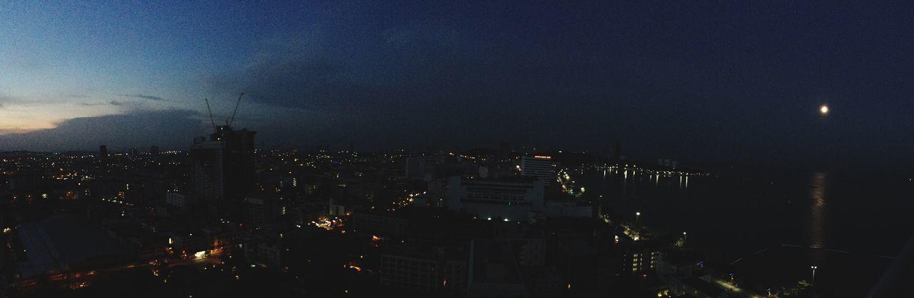 Sunrise & Moonset Sunrise Moonset Moning And Night