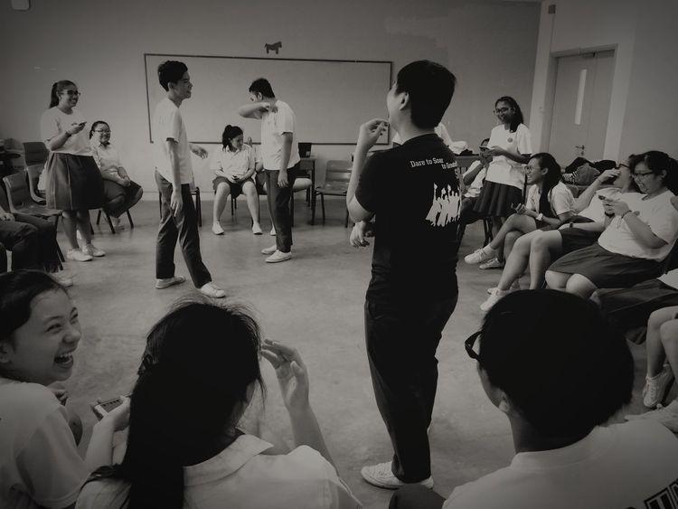 Laughter and memories that fills up the classroom Schoollife Teenagers  Laughter Memorise Life's Journey  Secondaryschool
