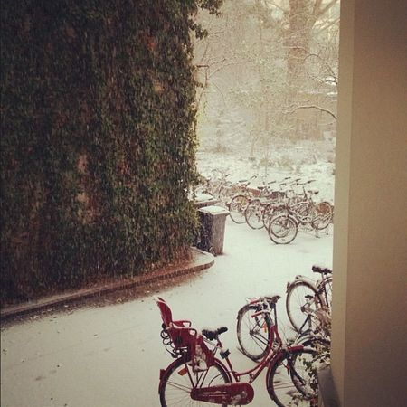 #snow #berlinwinter Snow Berlinwinter