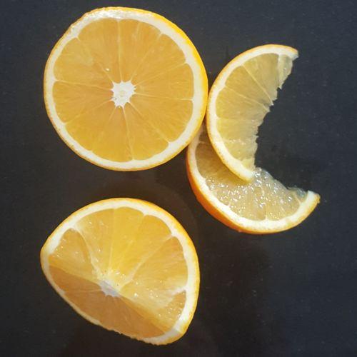 orange Orange Color Foodporn Foodphotography Food Photography Foodie Orange SLICE Fruit Healthy Eating Freshness Food And Drink Sour Taste No People Halved Indoors  Food Close-up Black Background Food Stories