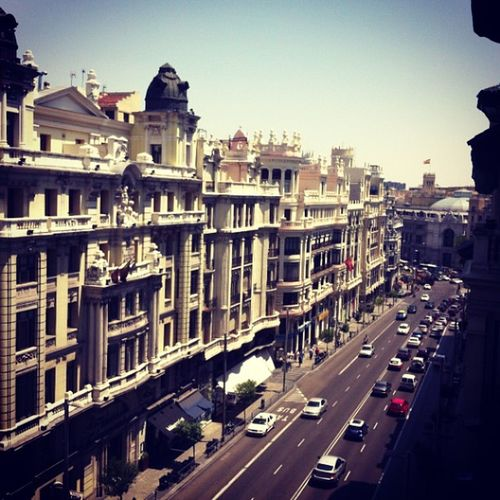 Madriiiiid ❤☀😍 Madrid Vacaciones Holidays Sunny Kiff