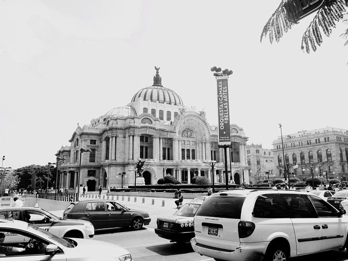 Blackandwhite Check This Out Mexicocity  Df Bellas Artes Hanging Out