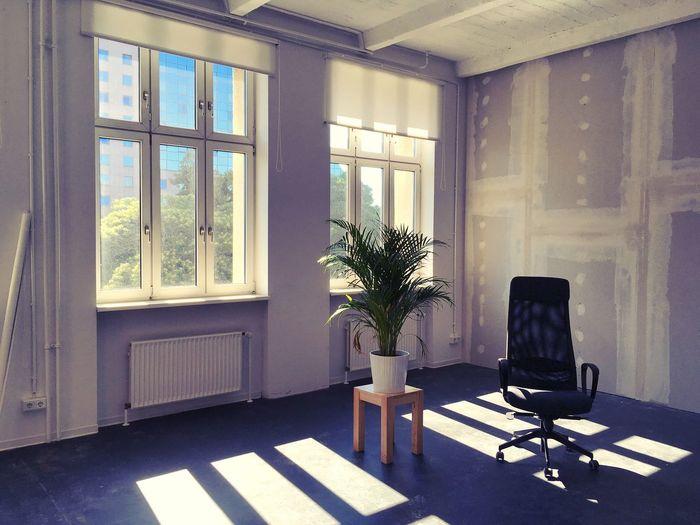 An office in