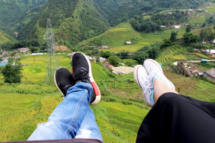 Fanxipan Field Natural Beauty Nature Sapa, Vietnam Travel Trip Adidas Adidas Nmd Childhood Day Mountain Mountain Range People Photo Photodaily Photography Real People Sap Summer Sunset Trandition Tranditional Tranditional House Tranditional People