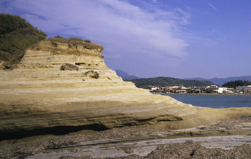 Canal d'Amour sandstone rock formation, Sidhari, Corfu island, Greece Canal D'Amour Mediterranean  Rock Formation Scenic Travel Beauty In Nature Coast Corfu Europe Greece Island Kerkyra Landscape No People Sandstone Sea Sidari