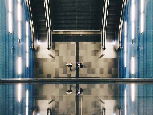 Clones. | Thanks again for the great EyeEm Adventure in Hamburg. Nice peeps, nice walk! EEA3 EEA3-Hamburg EyeEm Global Adventure Notes From The Underground Eye4photography  The Architect - 2015 EyeEm Awards Symmetry The Global EyeEm Adventure 3